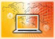 Global Information Technology Code Royalty Free Stock Images