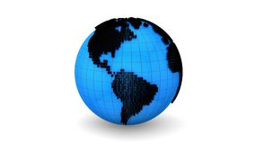 Global Information stock footage
