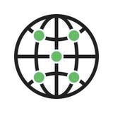 Global infrastruktur Arkivfoton