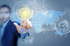 Global interaction Royalty Free Stock Photography