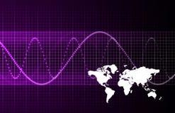 global international för affär vektor illustrationer