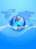 Global internet Stock Image