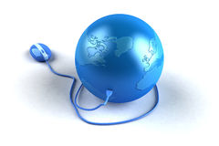 Global internet Royalty Free Stock Image