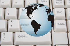 Global internet Royalty Free Stock Photography