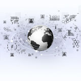 Global Internet Concept Stock Photography