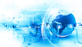 Global internet connection Stock Images
