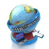 Global Internet stock images