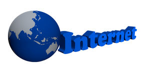 Global internet network Royalty Free Stock Photo
