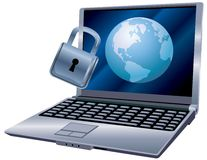 Global Internet Security Stock Photo