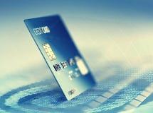 Global internetkreditkortbetalning Royaltyfria Bilder