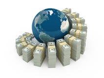 global investering stock illustrationer