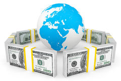 Global investment concept Royalty Free Stock Photos