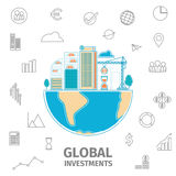 Global Investment concept Stock Images