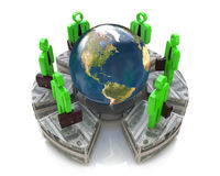Global investment Royalty Free Stock Photo