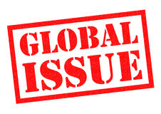GLOBAL ISSUE Rubber Stamp Stock Photography