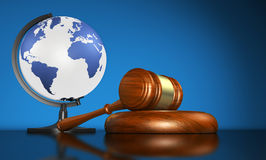 Global Justice And International Law Business Stock Image