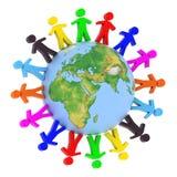 global kommunikation Royaltyfria Bilder