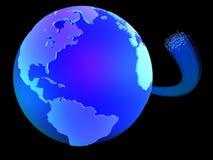 global kommunikation stock illustrationer