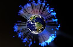 global kommunikation Royaltyfri Bild