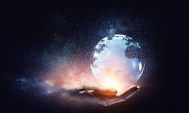 Global kommunikation och nätverkande Royaltyfri Bild