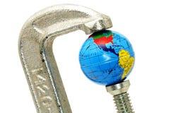 global kris Arkivfoton