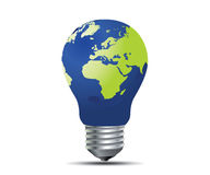 Global  Light Bulb Royalty Free Stock Photo