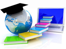 Global On linel Education Stock Photography