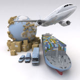 Global logistics Stock Photography