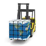 Global logistics Stock Photos