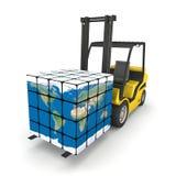 Global logistik Arkivbild