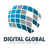 Global logo Stock Image