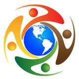 global mångfald vektor illustrationer