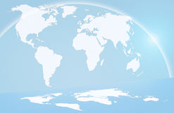 Global map Stock Photos