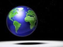 Global map scene Royalty Free Stock Image