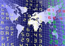 Global market Stock Photo