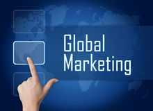 Global Marketing Royalty Free Stock Image