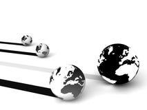global marketing network Стоковое фото RF