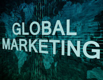 Global Marketing Royalty Free Stock Image