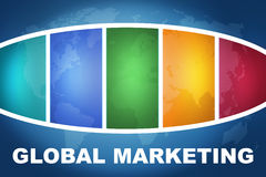 Global Marketing Royalty Free Stock Images