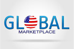 Global Marketplace Stock Image