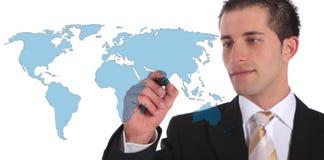 global marknad för utvidgning Royaltyfri Foto