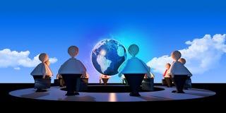 Global Matters_Dark Stock Image
