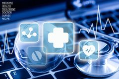 Global Medical Communications Royalty Free Stock Images