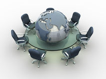 Global meeting Stock Photography