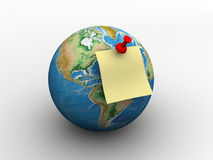 Global message Royalty Free Stock Photos