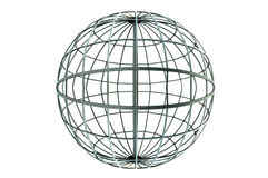 Global metal wire architectural Stock Image