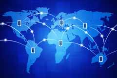 Global Mobile Connections Stock Photos