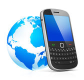 Global mobile networking Digital Connection Concept Royalty Free Stock Photography