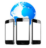 Global mobile networking Royalty Free Stock Photography