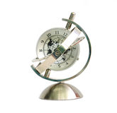 Global model clock Stock Photography